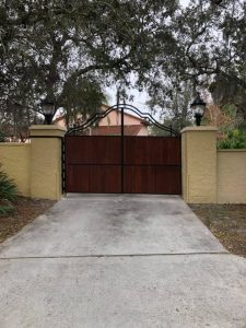 Decorative Gate for Driveway